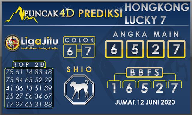 PREDIKSI TOGEL HONGKONG LUCKY 7 PUNCAK4D 12 JUNI 2020
