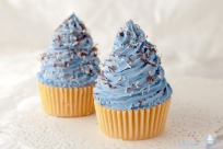 Jabon Cupcake Remolino Azul