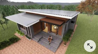 5 Desain Atap Rumah Miring yang Unik dan Nyentrik