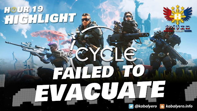 The CYCLE Gameplay (Hour 19 Highlight) Defended The Train! Failed To Evacuate!