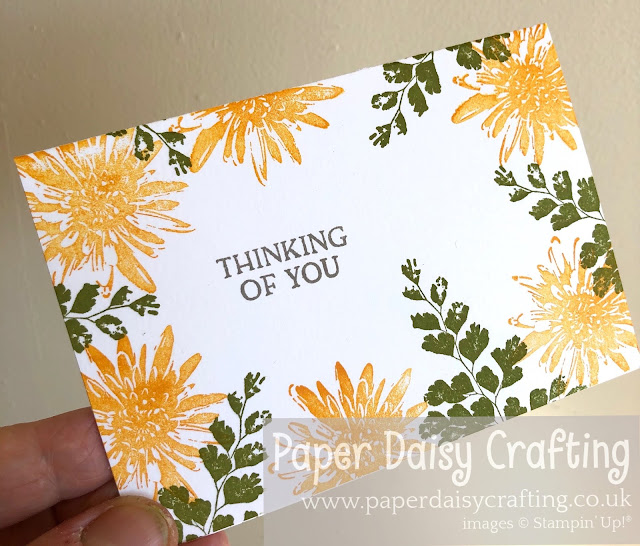 Positive Thoughts Stampin Up