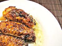 Receta : Alitas de pollo al horno con salsa de whisky y miel