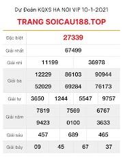 DỰ ĐOÁN XS HANOI VIP 10 - KQXS HÀ NỘI VIP HÔM NAY - SOICAU188.TOP