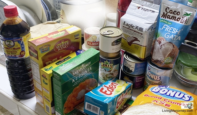 Grocery Items during Quarantine