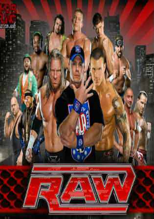 WWE Monday Night Raw HDTV 480p 350MB 01 Jan 2018 Watch Online Free download Worldfree4u 9xmovies