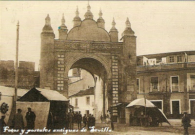 Fotos y postales antiguas de sevilla puertas de sevilla - Puertas de paso en sevilla ...