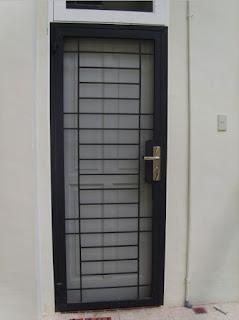 10 Model Terbaru Teralis pintu Minimalis Inspiratip Rumah Masa Kini3