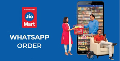 How to order Jio Mart from WhatsApp?