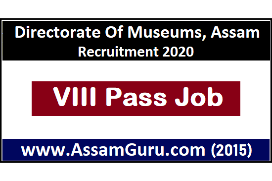 Viii Pass job in assan
