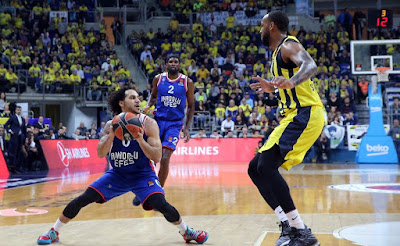 Turkish Airlines Euroleague | Fenerbahçe Beko - Anadolu Efes | Shane Larkin