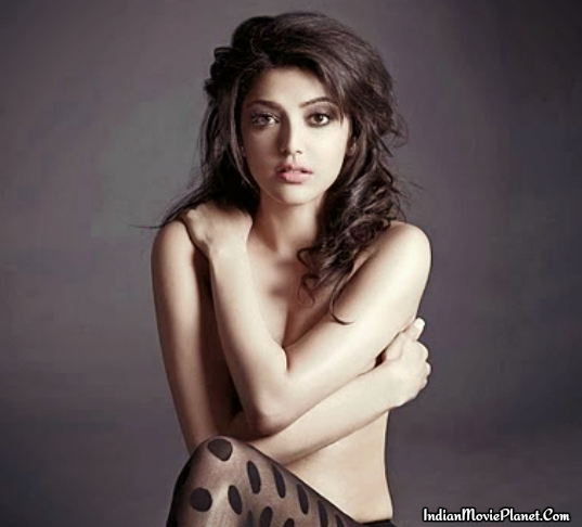 actress kajal agarwal hot nude photo shoot stills
