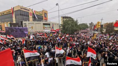 مخاوف في بغداد مع انطلاق مظاهرات الصدر