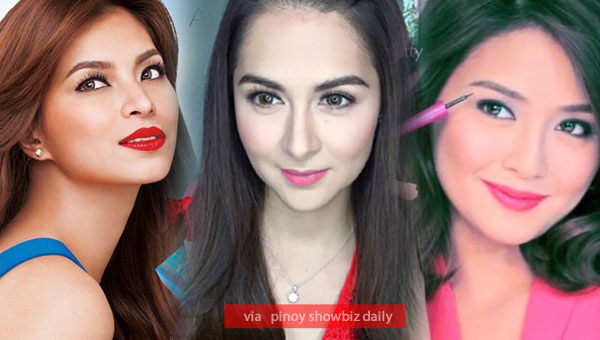 Marian RIvera joins Angel Locsin, Kathryn Bernardo in Avon fam