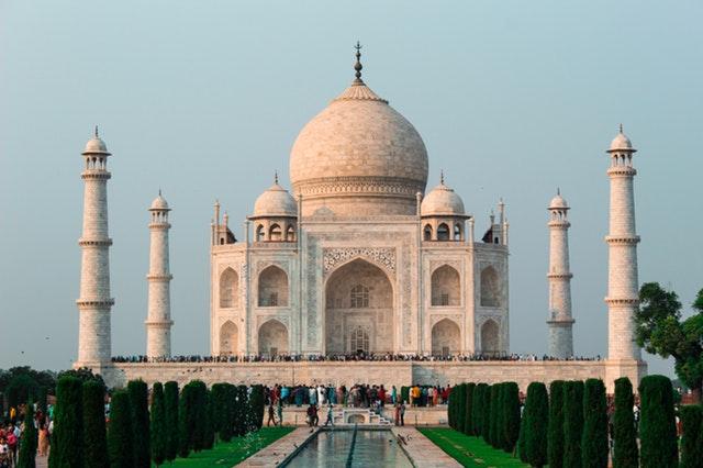 Taj Mahal, Bangunan Unik di India