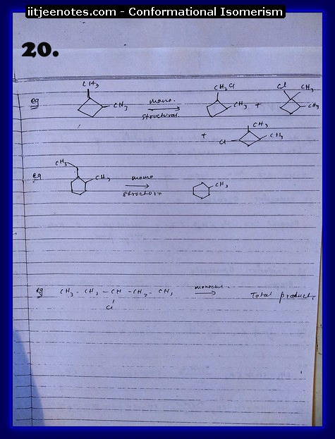 Conformational Isomerism Notes10
