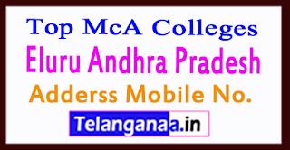 Top MCA Colleges in Eluru Andhra Pradesh