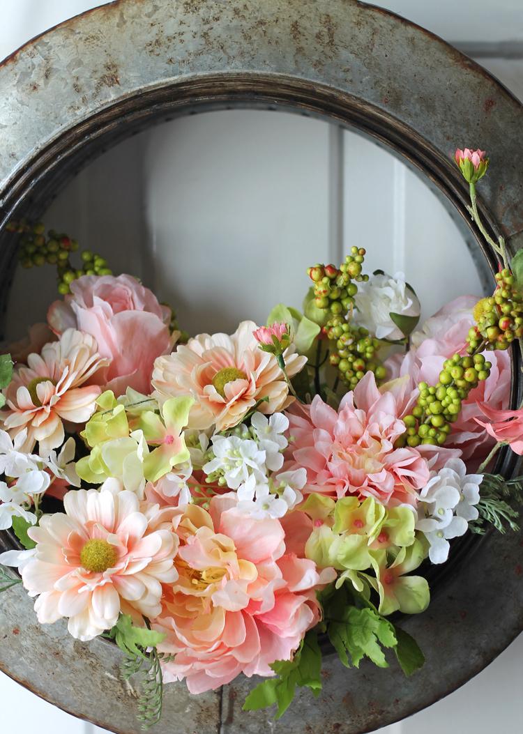Tire Wreath DIY