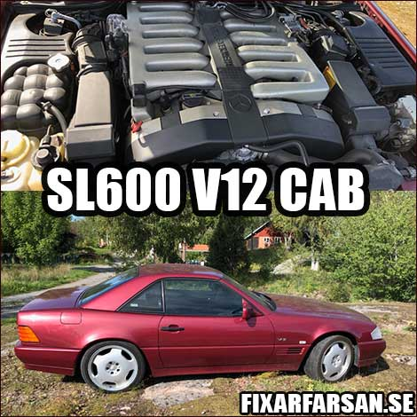 Mercedes SL 600 V12 For Sale