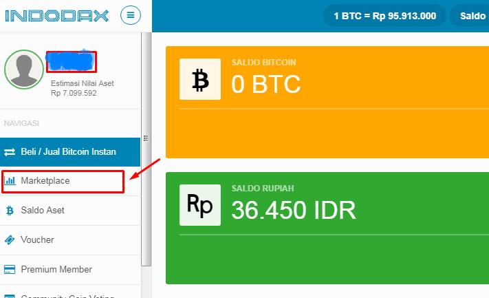 Cara Membeli Bitcoin di Indodax dengan Rupiah tanpa Biaya