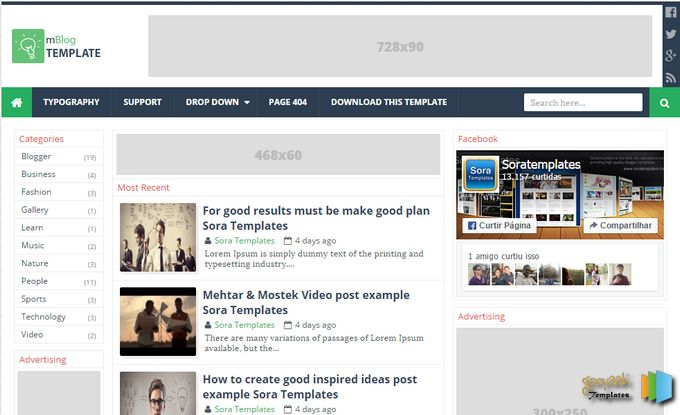 Free Ironicament Responsive Blogger Theme