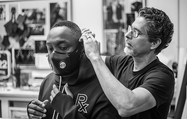 Will.i.am Xupermask Is Designed by Jose Hernandez