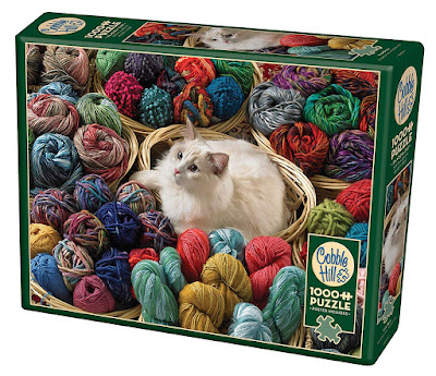 CobbleHill Fur Ball Jigsaw Puzzle
