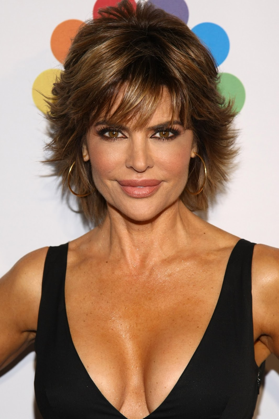 Celebrity Hairstyle Haircut Ideas Lisa Rinna Short Hairstyle Haircut