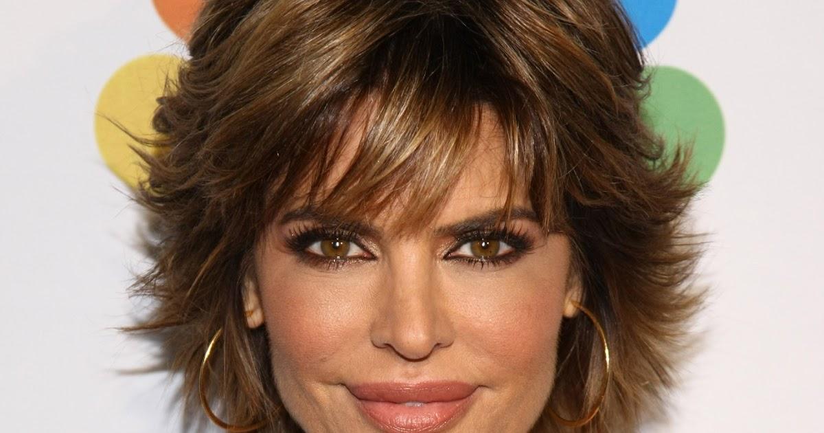 U Cut Hairstyle For Short Hair: Celebrity Hairstyle Haircut Ideas: Lisa Rinna Short