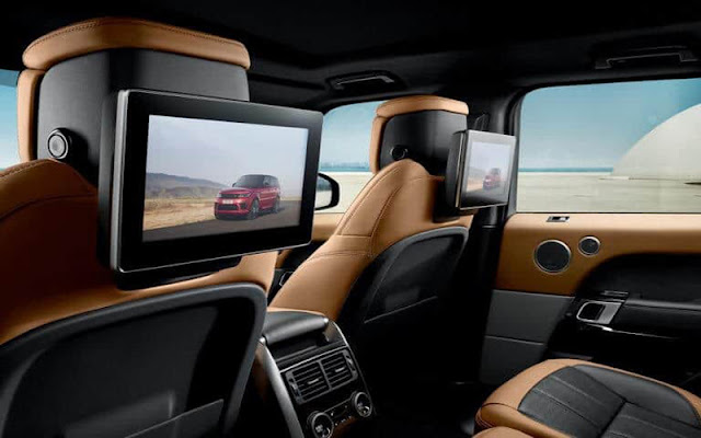 Range Rover Sport 2020 có nhiều tiện nghi hiện đại cho khách hàng trải nghiệm