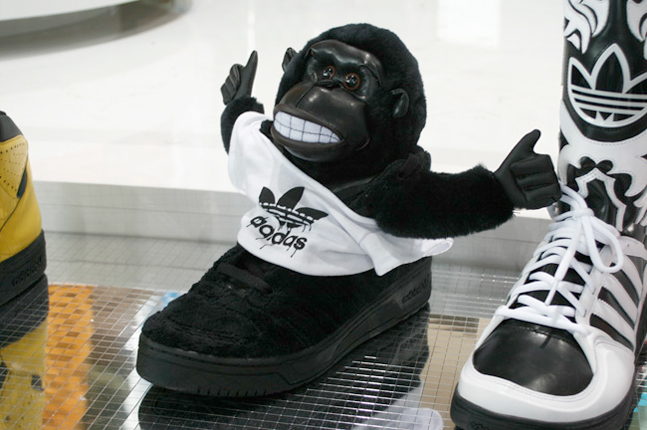 bada7786a2393 The furry teddy bear trainers loved by the likes of Lil  Wayne and Kanye  have gone feral with aggressively cute gorilla heads or leopards with tails  this ...