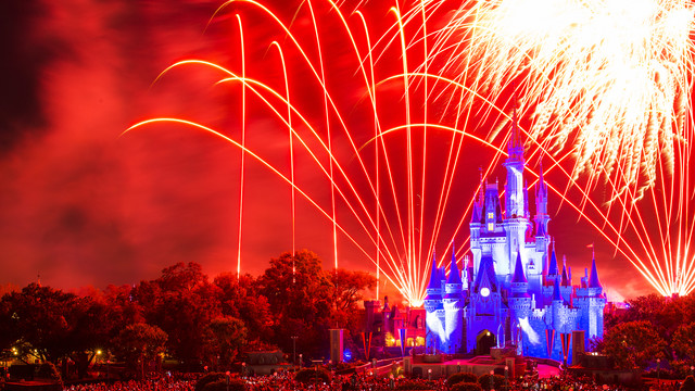 Happily Ever After no Magic Kingdom em Orlando