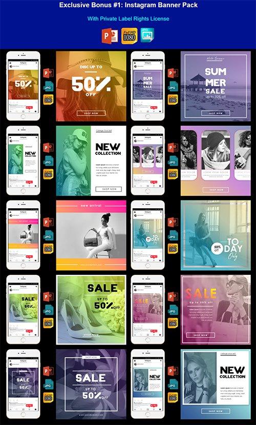 Whitelabel Premium Instagram Banner Pack