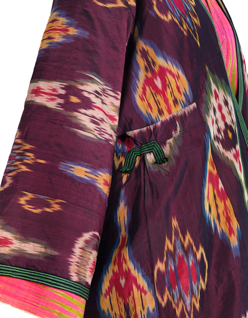 uzbekistan ikat textiles, ikat fabrics uzbekistan, ikat textiles central asia