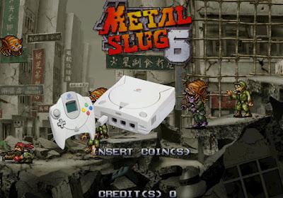 metal slug 6 dreamcast