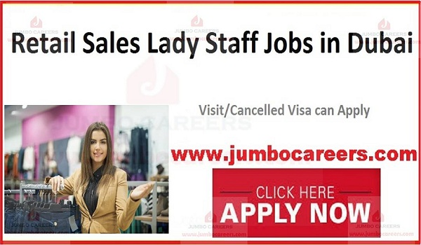 Recent Female jobs in Dubai, Current jobs in Dubai,