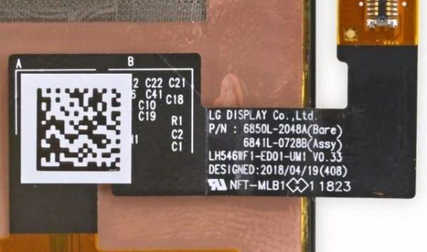 شاشات Google Pixel 3 مصنعة بواسطة LG