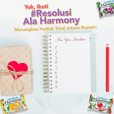Kuis Resolusi Ala Harmony Berhadiah Voucher 2 Juta Rupiah