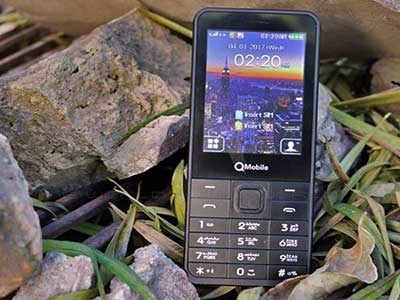 QMobile N230 Rs: PKR 2,450 Feature Phone