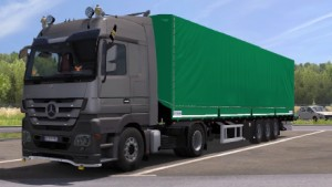 Mercedes Actros MP3 Reworks