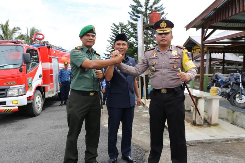Gelar Pasukan Operasi Lilin 2017, Hi. Parosil Bacakan Amanat Kapolri