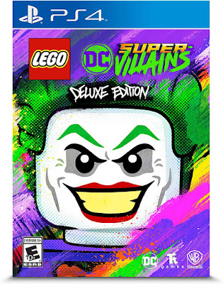 Lego Dc Super Villains Game Cover Ps4 Deluxe Edition