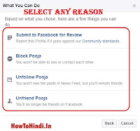 remove fake Facebook account