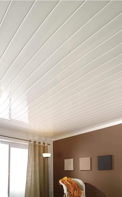 Cielo raso PVC Blanco Brillante