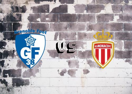 Grenoble vs AS Monaco  Resumen