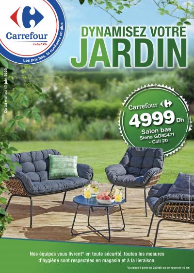catalogue carrefour maroc jardin juin 2020