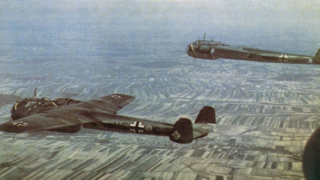 Luftwaffe Dornier Do 17z bombers Planes in color worldwartwo.filminspector.com