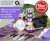 OX-993 33Pcs Panci Oxone Travel Cookware Set - Ungu