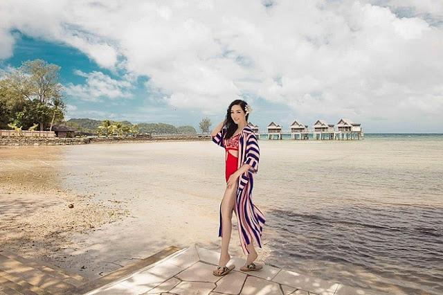 U50 Giáng My khoe hình thể gợi cảm với bikini táo bạo 4