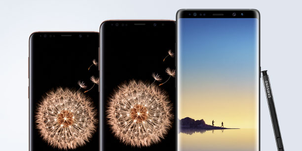 Get up to $350 off the Samsung Galaxy S9, S9+ and Note 8 at Best Buy