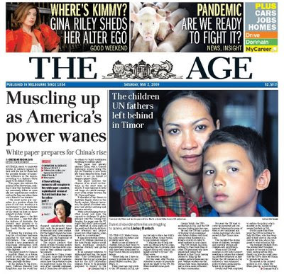 TRENTHAM TALES: A BIASED VIEW of Melbourne Newspapers